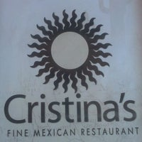 Photo taken at Cristina's Fine Mexican Restaurant by Hava Johnston R. on 9/28/2011