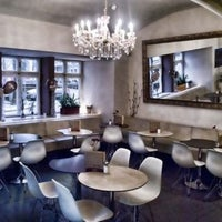Photo taken at Milky Cafe & Co by Honzík V. on 7/4/2011