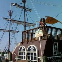 Photo taken at Duckaneer Pirate Ship by Ari S. on 9/3/2011