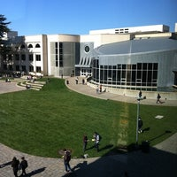 Photo taken at USF - Gleeson Library by Flora K. on 10/31/2011