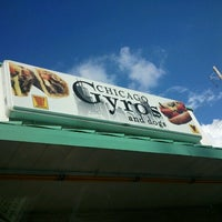 Photo taken at Chicago Gyros And Dogs by Briar W. on 8/11/2012