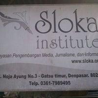 Photo taken at Sloka Institute by Anton M. on 12/29/2011