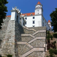 Photo taken at Bratislava Castle by Jason A. on 7/7/2012