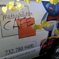 Photo taken at Metropolitan Cafe by Domenick C. on 10/28/2011