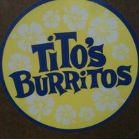 Photo taken at Tito's Burritos by Michael H. on 1/8/2012