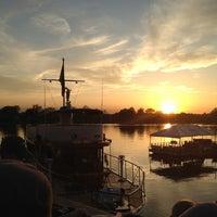 Photo taken at Cantina Marina by Samantha M. on 4/3/2012