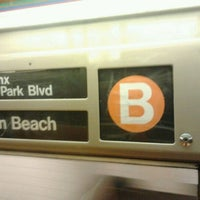 Photo taken at MTA Subway - B Train by Daniel S. on 5/8/2012