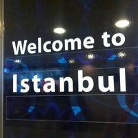 Photo taken at Istanbul Atatürk Airport (IST) by Suus on 4/19/2012
