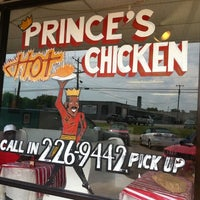 Photo taken at Prince's Hot Chicken Shack by Franklin A. on 7/12/2011