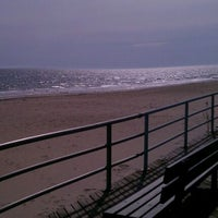 Photo taken at Beach 25th Street & Boardwalk by David N. on 4/14/2012