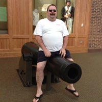 Photo taken at Fort Macon Visitors Center by Raybo34 on 7/29/2012