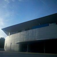 Photo taken at Estadio Polideportivo Islas Malvinas by Juan Ignacio F. on 2/24/2012