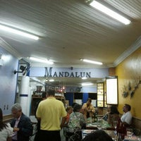 Photo taken at Mandalun Restaurante by Alexandre S. on 12/7/2011