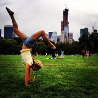 Photo taken at Sheep Meadow - Central Park by Semyon M. on 8/19/2012