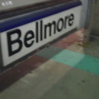 Photo taken at LIRR - Bellmore Station by Diana Q. on 8/27/2012