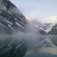 Photo taken at Lake Louise by Timothy on 11/5/2011