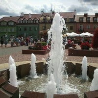 Photo taken at Rynek w Serocku by Jarosław J. on 7/15/2012