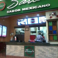 Photo taken at Sara's Sabor Mexicano by Miriam Z. on 6/1/2012