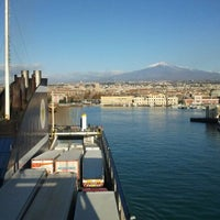 Photo taken at Porto di Catania by Luca Z. on 12/8/2011
