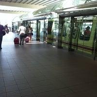 Photo taken at Tram To Gates 60-99 by Barbara B. on 8/2/2012