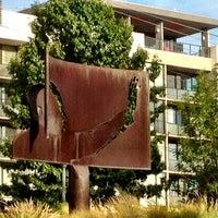 """Photo taken at """"Homage to King"""" Sculpture by Jennifer Kjellgren ~. on 8/12/2012"""