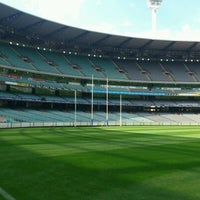 Photo taken at MCG by Michael S. on 3/30/2012