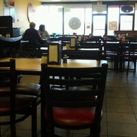 Photo taken at Cicis by Amber G. on 11/18/2011