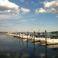 Photo taken at Chelos Waterfront Bar & Grille by Tanya P. on 7/9/2012