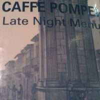 Photo taken at Caffe Pompei by Chuck S. on 10/2/2011