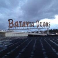 Photo taken at Batavia Downs Gaming by Joe M. on 4/28/2012