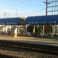 Photo taken at Metrolink Burbank-Bob Hope Airport Station by Steven P. on 9/7/2012