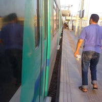 Photo taken at Gare Tahar Sfar by Nabil B. on 7/10/2012
