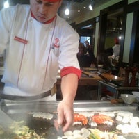 Photo taken at Benihana by Maureen O. on 2/15/2012