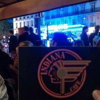 Photo taken at Indiana Café – Montparnasse by Stitcheuh S. on 7/21/2011