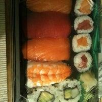 Photo taken at Sushiya Bentou by Marta on 1/13/2012