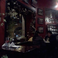 Photo taken at Cafe Perla by Juliana R. on 11/10/2011