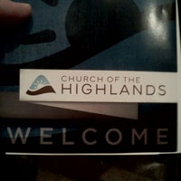 Photo taken at Church of the Highlands by Mike M. on 12/4/2011