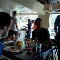 Photo taken at 24/7 Bar @ The Lalit Hotel by Joey L. on 2/26/2012