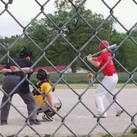 Photo taken at Highland Park Little League by Donnie B. on 5/12/2012