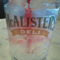 Photo taken at McAlister's Deli by Patsy B. on 4/24/2012