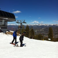 Photo taken at The Maggie at Peak 9 Base by Chad L. on 3/23/2012