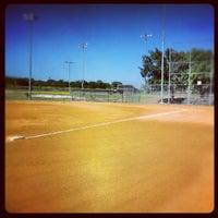Photo taken at Bob Havins Fields by Austin S. on 8/3/2012