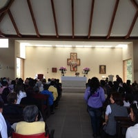 Photo taken at Iglesia Santa Ana de Chia by Andres B. on 2/26/2012
