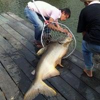 Photo taken at Bung Sam Ran Fishing Park by Theartof B. on 3/18/2012