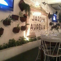 Photo taken at Jardim Aurélia Restaurante e Eventos by Luciana R. on 4/7/2012