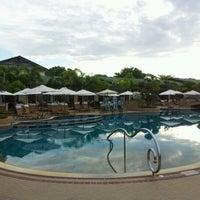 Photo taken at Thai Garden Resort by Kongkiat S. on 8/16/2012