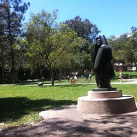 Photo taken at UCLA Franklin D. Murphy Sculpture Garden by Jinny on 7/9/2012