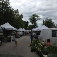 Photo taken at Seacoast Farmers Market - Exeter by Brandon S. on 7/5/2012