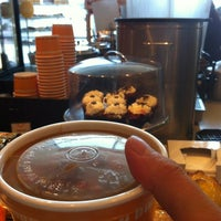 Photo taken at Au Bon Pain by Lucky C. on 6/29/2012