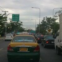 Photo taken at แยกศรีสมาน (Srisaman Intersection) by kit S. on 6/18/2012